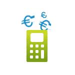 Icon für das Einholen und Vergleichen von Angeboten